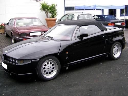 Alfa Romeo RZ Spider softtop