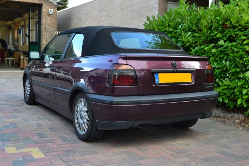 VW Golf III softtop Sonnenland