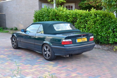 BMW E36 softtop Sonnenland stof