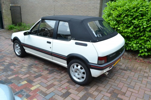 Peugeot 205 softtop Sonnenland stof 1-delig