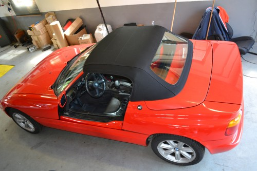 BMW Z1 softtop ACOUSTIC style