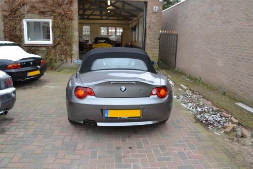 BMW Z4 softtop probleem