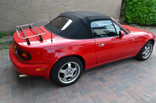 Mazda MX5 softtop Sonnenland Original Line met glazen verwarmde achterruit