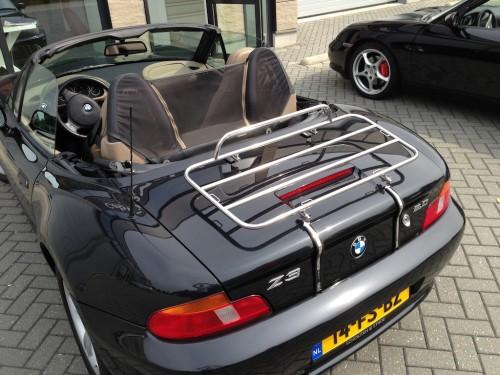Bagagerek BMW Z3 chrome bouwjaar 1999 -2003