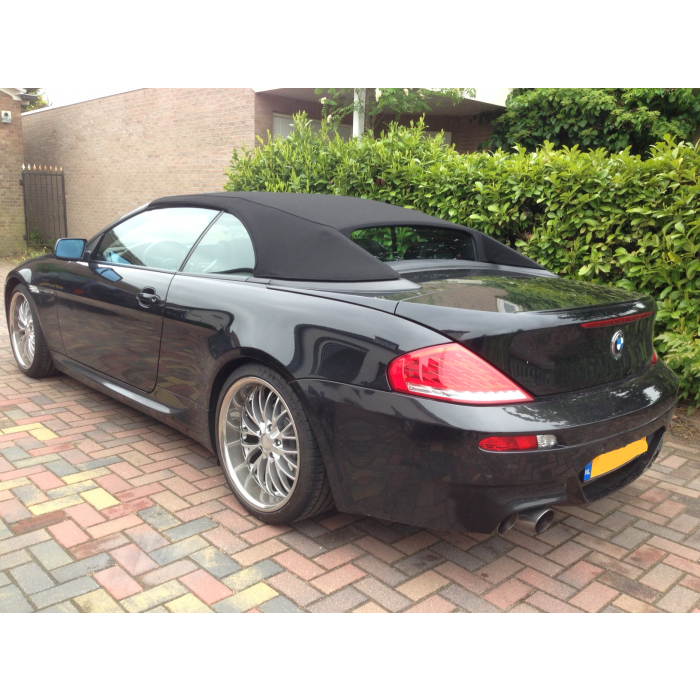 BMW 6-serie E64 softtop
