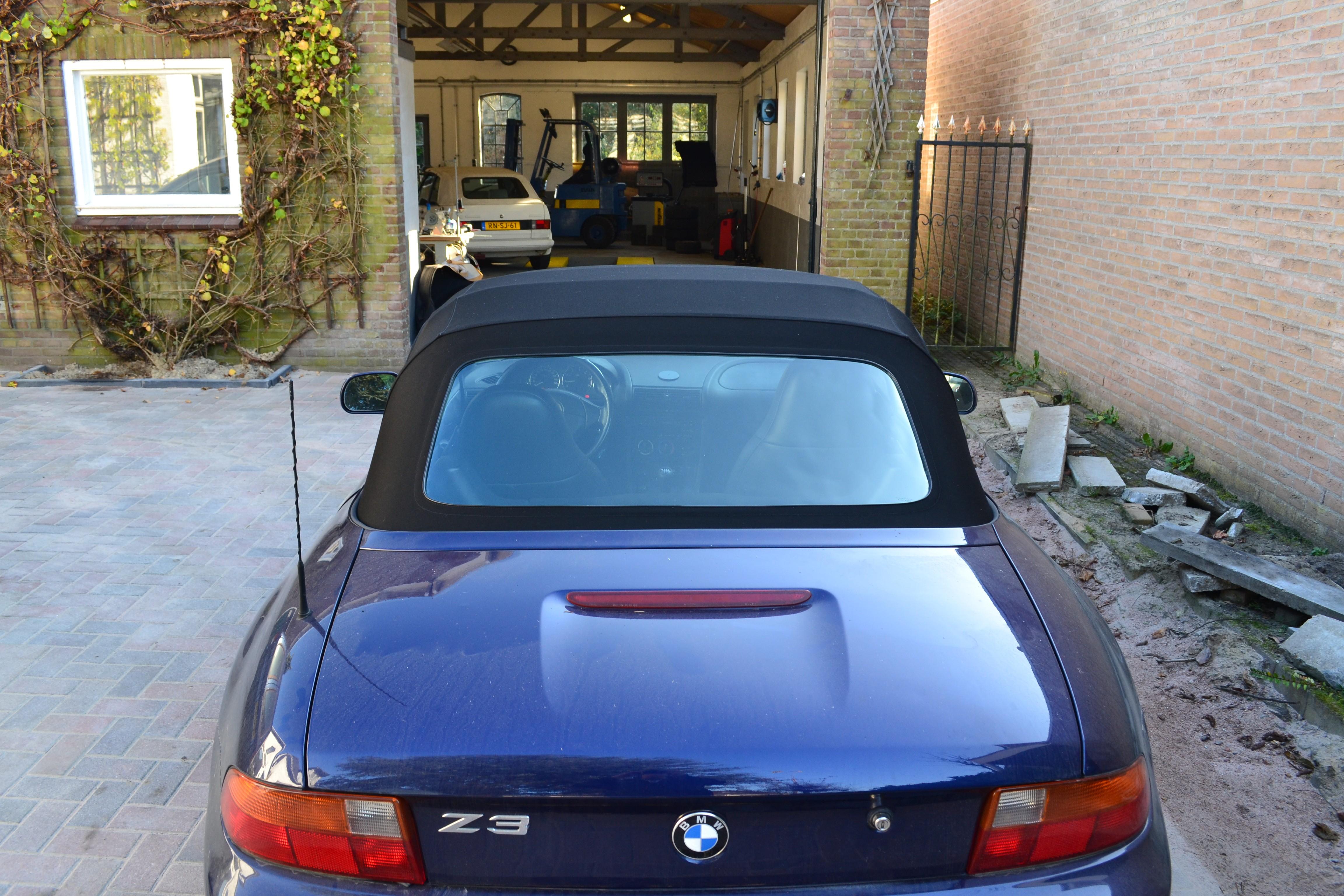 Achterruit BMW Z3 originele kwaliteit economy line inclusief montage