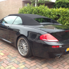 BMW 6-serie E64 softtop