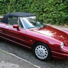 Alfa Romeo Spider Fastback softtop