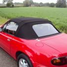 Mazda MX5 NA en NB softop Sonnenland met PVC achterruit en rits