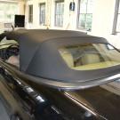 Saab 93 cabrio achterruit vervangen