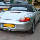 Porsche Boxster Sonnenland met glazen ruit