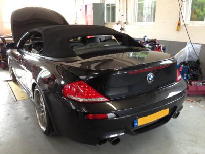BMW 6-serie voor de montage