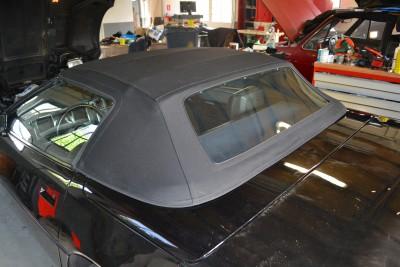 Corvette cabriodak Sonnenland stof