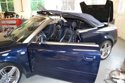Audi A4 softtop montage
