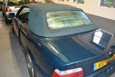BMW E36 softtop voor montage