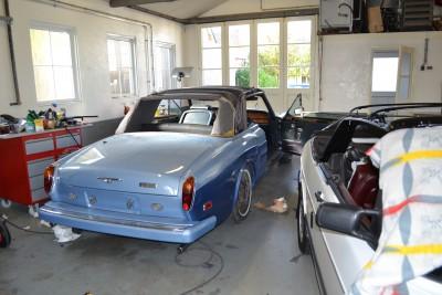Montage Rolls Royce cabriodak
