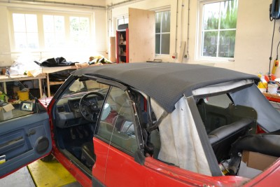 Montage softtop R5