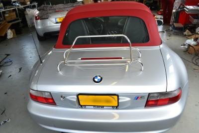 Softtop BMW Z3M montage