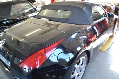 Nissan 350Z Verdeck voor montage