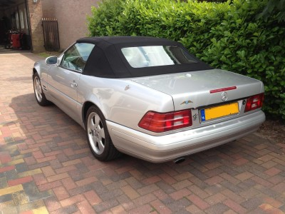 MB Sl R129 softtop Acoustic