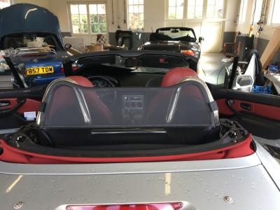 Rolbeugel en windscherm BMW Z3
