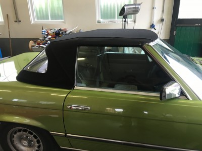 Softtop Mercedes SL sonnenland stof