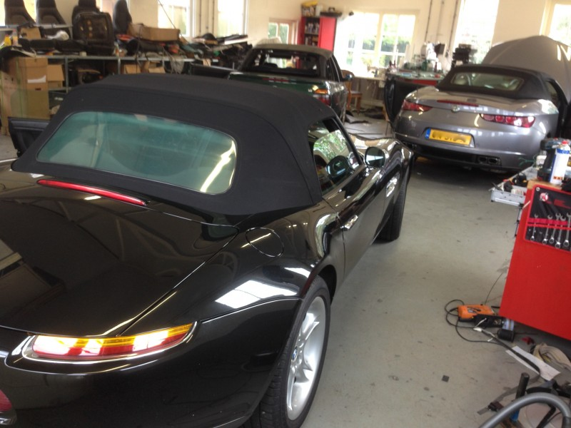 Bmw Z8 Softtop E52 2000 2003