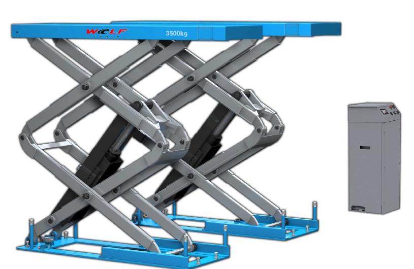 Wolf wks3550 wielvrije inbouwschaarhefbrug extra hoog bel nu 0573 459119 - Service hoog ...