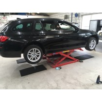 Low profile rubber matten set