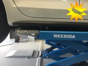 Wolf WKS3050A opbouw schaarhefbrug wielvrij