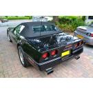 Corvette C4 softtop Sonnenland verbeterde pasvorm en verstevigde zijkanten