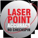 Laser point nauwkeurigheid