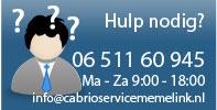 Heeft u hulp nodig bij het kiezen van het juiste product? neem contact met ons op!